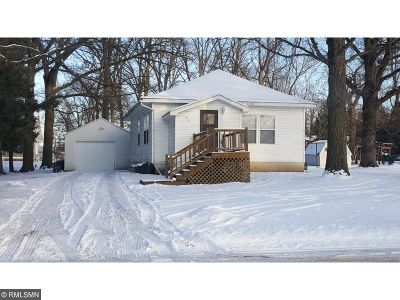 Milaca MN Single Family Home Sold: $114,400