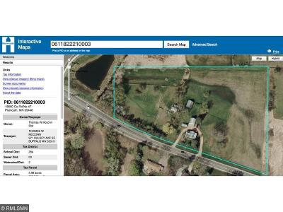 Plymouth Residential Lots & Land Sold: 18550 County Road 47