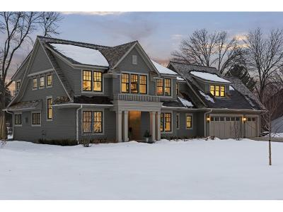 Edina Single Family Home Sold: 5312 Chantrey Road