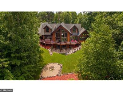 Breezy Point, Crosslake Single Family Home For Sale: 12402 Abc Drive