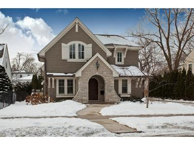 Edina Single Family Home Sold: 4812 Maple Road