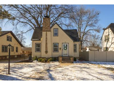Robbinsdale Single Family Home Sold: 4115 Zenith Avenue N