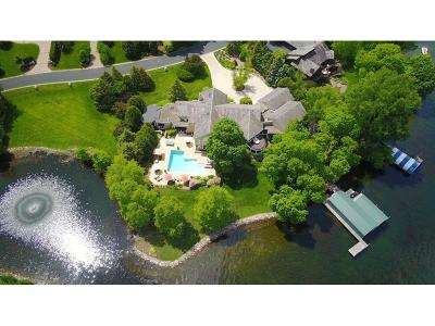 Tonka Bay MN Single Family Home For Sale: $4,700,000