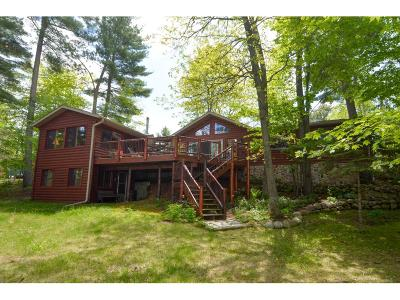 Crosslake Single Family Home For Sale: 16362 Bay Shores Road