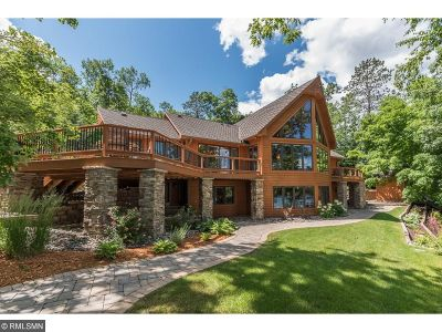 Brainerd, Nisswa, Baxter Single Family Home For Sale: 11420 Wilson Bay Drive SW