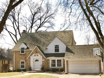 Edina Single Family Home Sold: 4622 Edgebrook Place