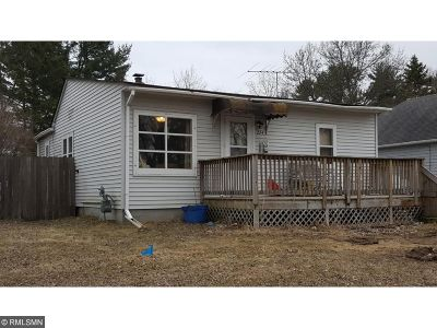 Mora MN Single Family Home Sold: $43,000