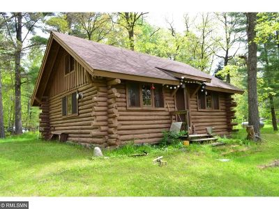 Crosslake Single Family Home For Sale: 14631 River Bluffs Road