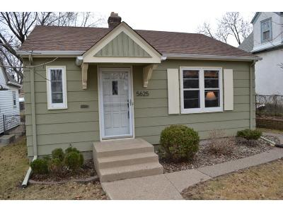 Minneapolis Single Family Home Sold: 5625 S 42nd Avenue