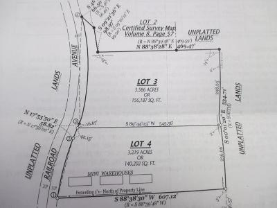 Ellsworth Residential Lots & Land For Sale: Xxx Railroad Avenue