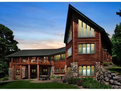 Crosslake Single Family Home For Sale: 12997 Boulderwood Drive