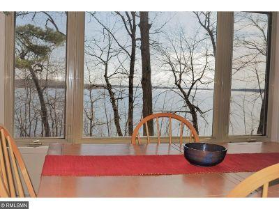 Lake Shore Single Family Home For Sale: 8666 Interlachen Road