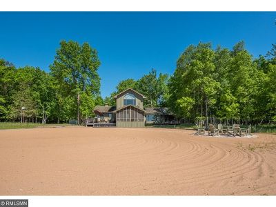 Pequot Lakes Single Family Home For Sale: 10025 Pelican Trail