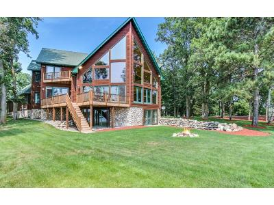 Crosslake Single Family Home For Sale: 12031 Sunrise Island Road