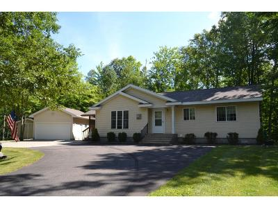 Crosslake Single Family Home For Sale: 14589 Whitebirch Lane