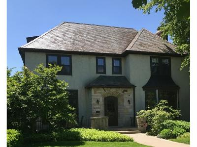 Minneapolis Single Family Home Sold: 4870 W Lake Harriet Parkway