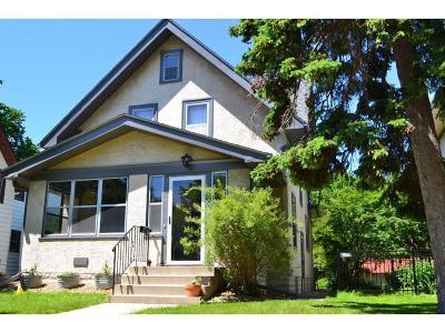 Minneapolis Single Family Home Sold: 2526 Ulysses Street NE