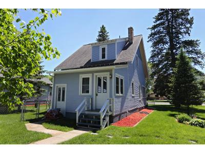 Rush City Single Family Home For Sale: 805 W 4th Street