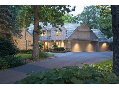 Edina Single Family Home For Sale: 5011 Schaefer Road
