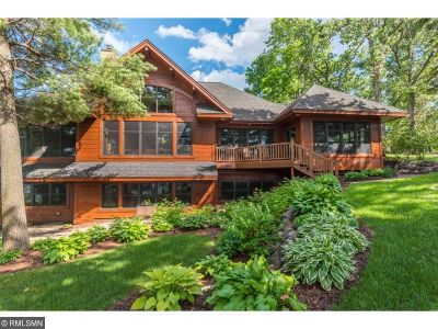 Nisswa Single Family Home For Sale: 21759 Holman Point Drive