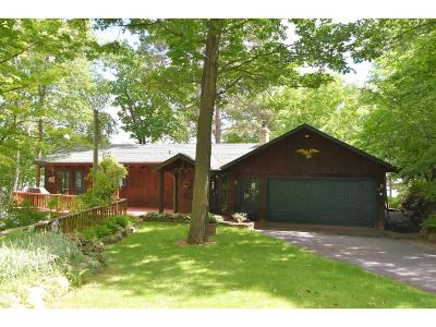 Crosslake Single Family Home For Sale: 12549 Whitefish Trail