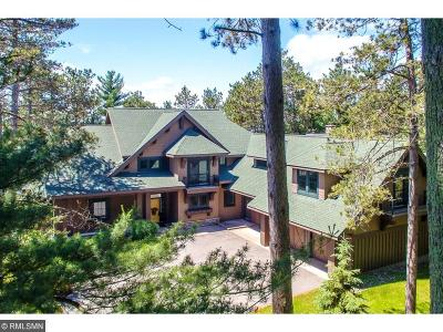 Nisswa MN Single Family Home For Sale: $999,000