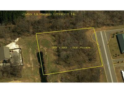 East Bethel Residential Lots & Land For Sale: 214 Ulysses Street NE