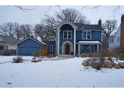 Saint Paul Single Family Home For Sale: 1632 S Mississippi River Boulevard