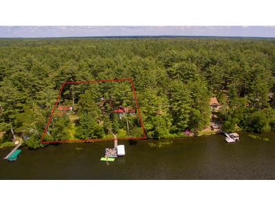 Nisswa MN Single Family Home Contingent: $349,900
