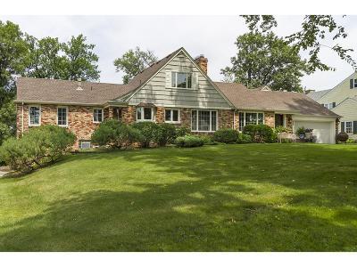 Edina Single Family Home For Sale: 4702 Golf Terrace