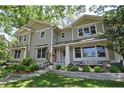 Edina Single Family Home For Sale: 4709 Meadow Road