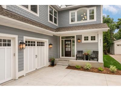 Edina Single Family Home For Sale: 4311 Morningside Road