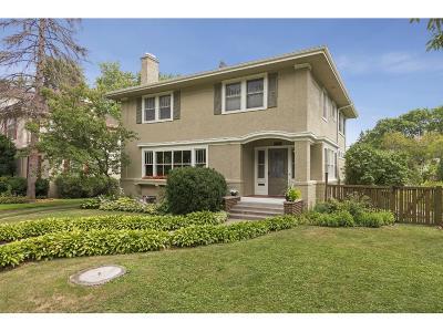 Minneapolis Single Family Home For Sale: 4611 Dupont Avenue S