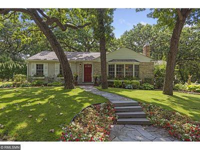 Minneapolis Single Family Home For Sale: 2551 Burnham Road