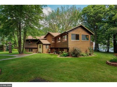 Aitkin MN Single Family Home For Sale: $475,000