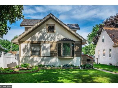 Minneapolis Single Family Home For Sale: 3139 Ulysses Street NE