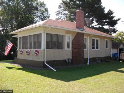 Rush City Single Family Home For Sale: 470 W 4th Street