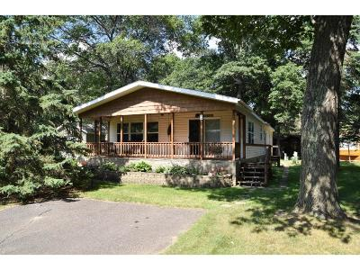 Crosslake Single Family Home For Sale: 11597 Milinda Shores Drive #10