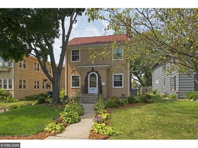 Saint Paul Single Family Home For Sale: 1493 Fulham Street