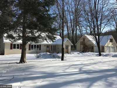 Pine County Single Family Home For Sale: 16591 Pine Lake Road