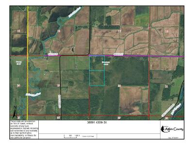 Aitkin Residential Lots & Land For Sale: 38891 430th Street Street