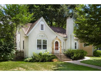Minneapolis Single Family Home For Sale: 4933 Ewing Avenue S