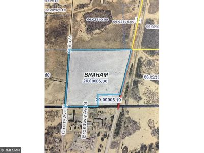 Braham Residential Lots & Land For Sale: 3 Highway 107 Drive