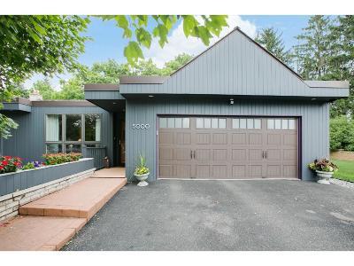 Edina Single Family Home For Sale: 5000 Nob Hill Drive