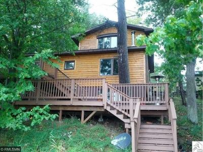 Chisago County, Isanti County, Pine County, Kanabec County Single Family Home For Sale: 94536 Sunny Beach Road