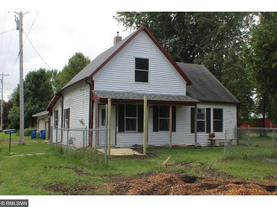 Rush City Single Family Home For Sale: 20 W 3rd Street