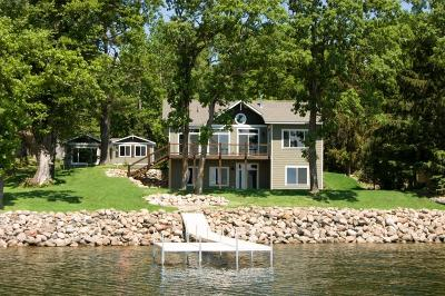 Nisswa Single Family Home For Sale: 10491 Gull View Road SW