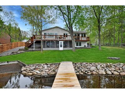 Brainerd Single Family Home For Sale: 15809 Pine Shores Road