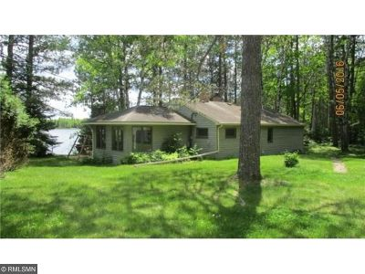 Chisago County, Isanti County, Pine County, Kanabec County Single Family Home For Sale: 1576 Net Lake Road