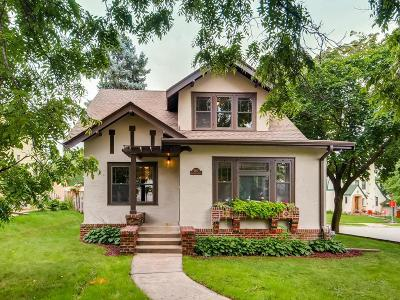 Minneapolis Single Family Home For Sale: 5247 Bloomington Avenue